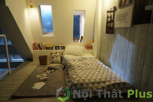 mẫu thiết kế nội thất phòng ngủ hiện đại PNHD010