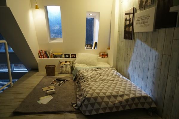 mẫu nội thất phòng ngủ hiện đại thoáng mát PNHD010
