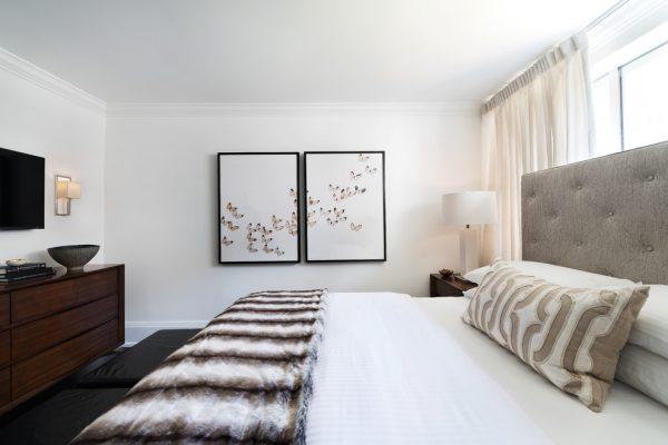 mẫu thiết kế nội thất phòng ngủ PNHD009