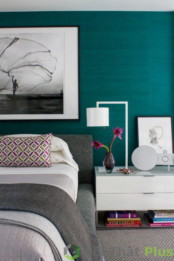 mẫu thiết kế nội thất phòng ngủ tối giản PNTG003