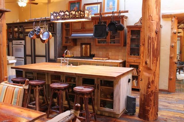 mẫu tủ bếp gỗ tần bì chữ I TBDTB05