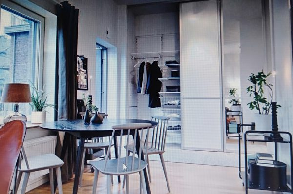 mẫu bàn ăn sang trọng cho nội thất chung cư 50m2