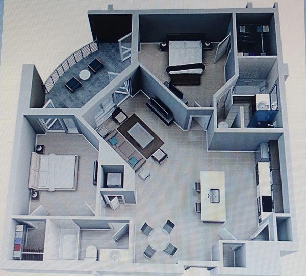 nội thất lịch lãm cho căn hộ chung cư