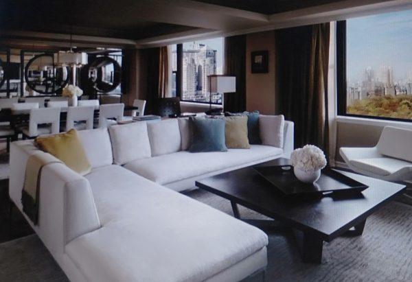 mẫu nội thất phòng khách cho căn hộ 100m2
