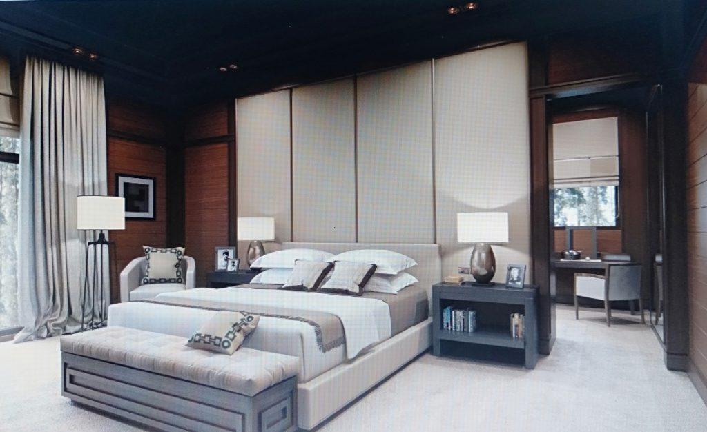 mẫu nội thất phòng ngủ cho chung cư 100m2
