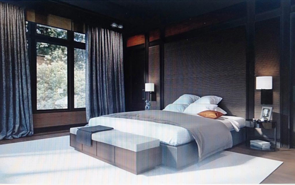 mẫu phòng ngủ cho chung cư 100m2