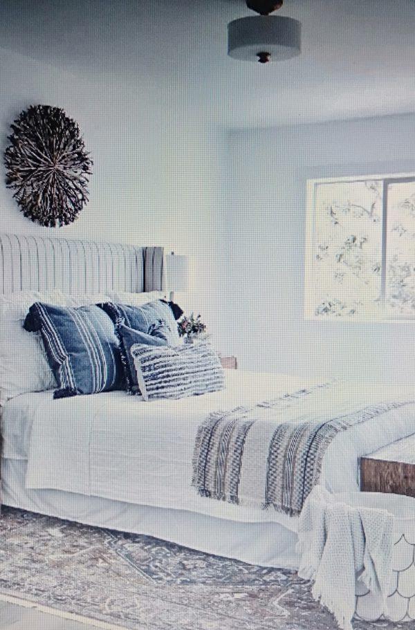 phòng ngủ mát mẻ cho căn hộ chung cư 50m2
