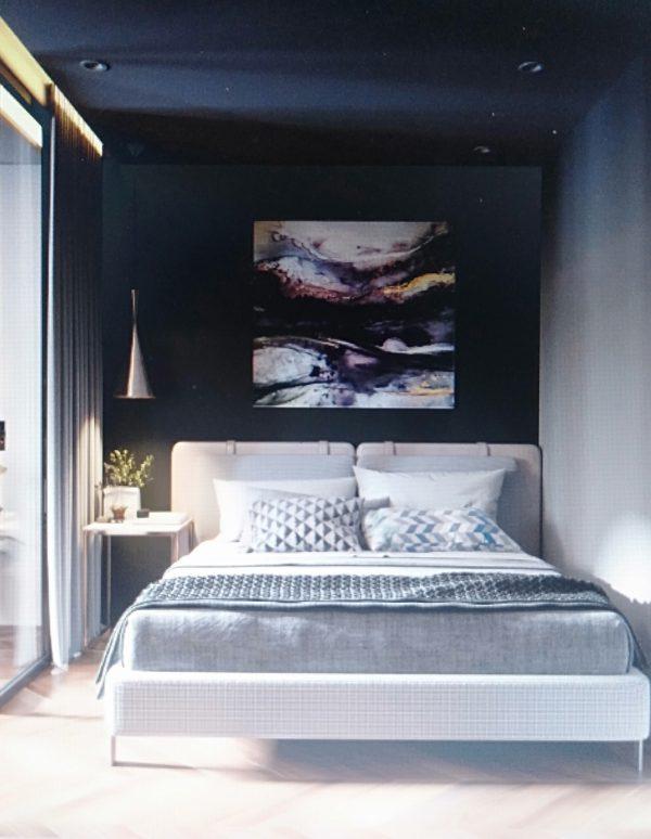 phòng ngủ khoa học cho căn hộ chung cư 50m2