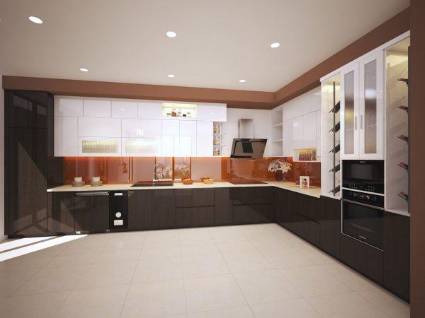 thiết kế tủ bếp tại Vinhomes Imperia Hải Phòng