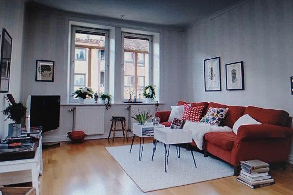 mẫu phòng khách hiện đại cho căn hộ chung cư