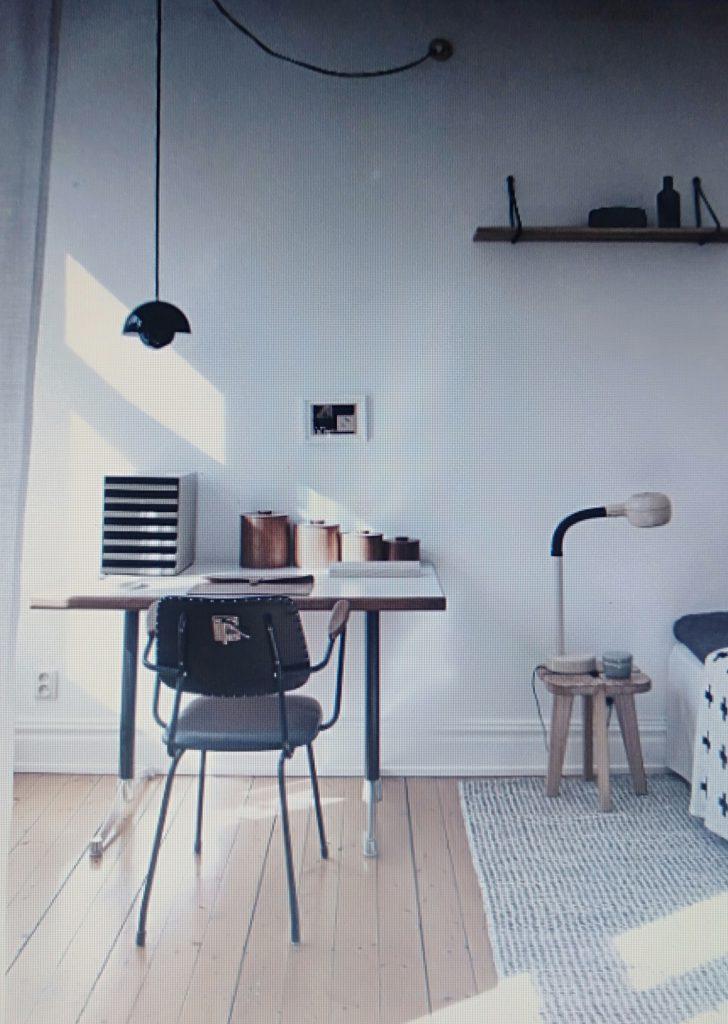 phòng làm việc cho căn hộ chung cư 80m2