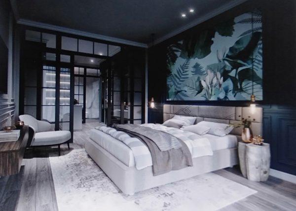mẫu phòng ngủ trung tính cho căn hộ chung cư