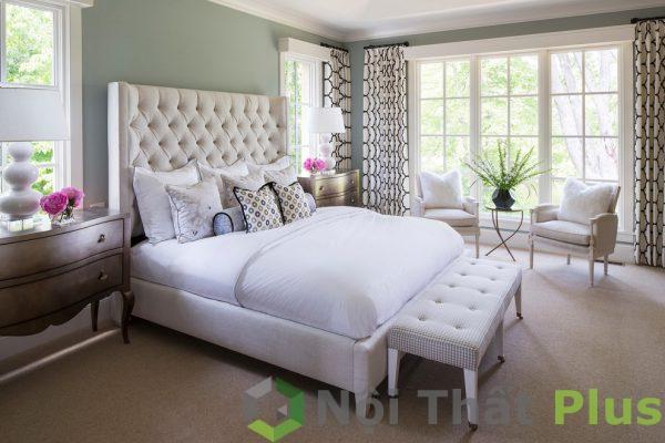 thiết kế nội thất phòng ngủ phong cách cổ điển