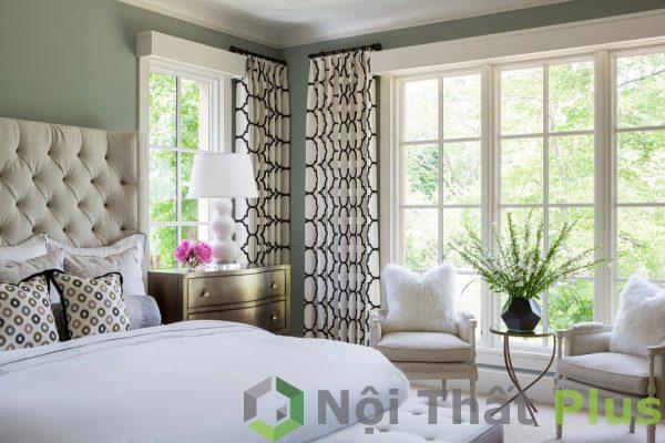 mẫu thiết kế nội thất phòng ngủ phong cách cổ điển hình 1