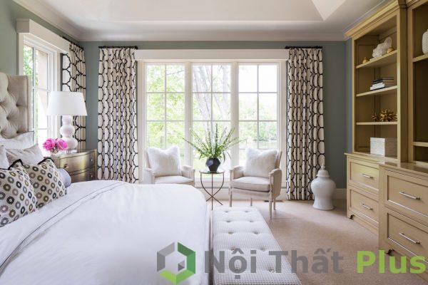 mẫu nội thất phòng ngủ phong cách cổ điển hình 2