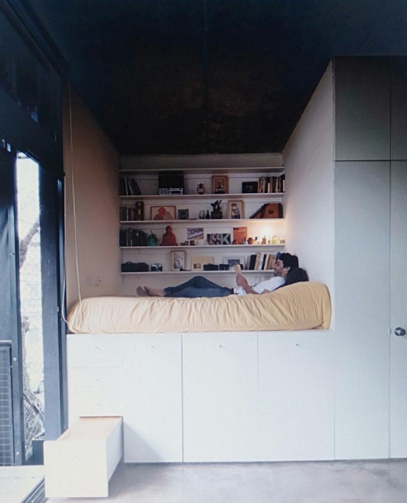 phòng ngủ đa năng cho căn hộ chung cư 80m2