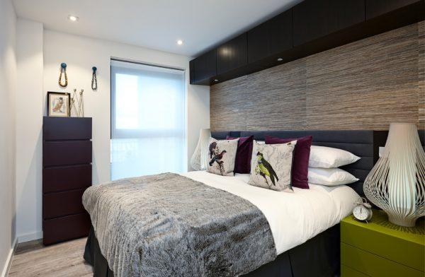 mẫu gỗ lát sàn cho phòng ngủ điện đại