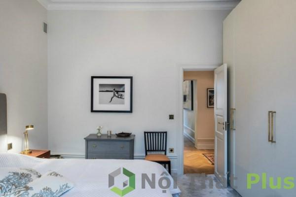 mẫu thiết kế phòng ngủ cho chung cư 85m2