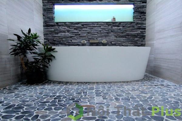 mẫu phòng tắm thoáng mát cho nhà phố