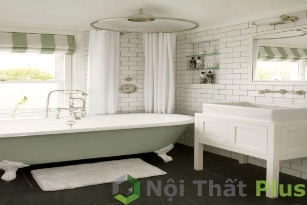 mẫu phòng tắm sang trọng cho nhà phố