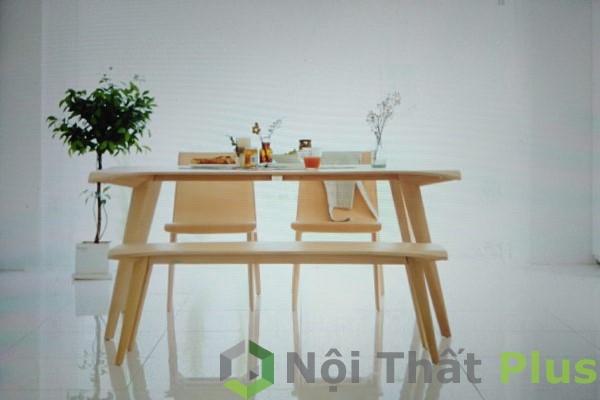 mẫu bàn ăn cho chung cư phong cách hàn quốc