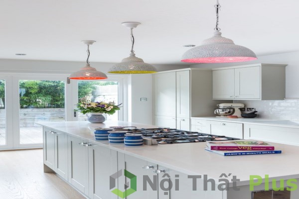 mẫu phòng bếp tiện nghi cho nhà phố
