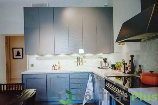 mẫu phòng bếp cho chung cư phong cách bắc âu