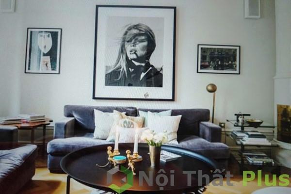 trang trí phòng khách cho chung cư phong cách bắc âu