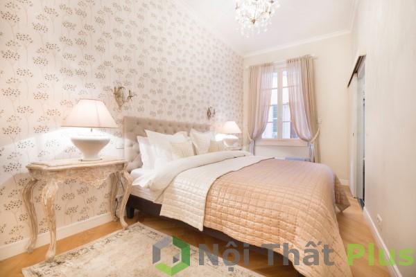 giá thiết kế thi công phòng ngủ tối giản cho chung cư 3 phòng ngủ