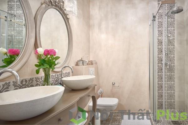 giá thiết kế thi công phòng vệ sinh cho chung cư 3 phòng ngủ