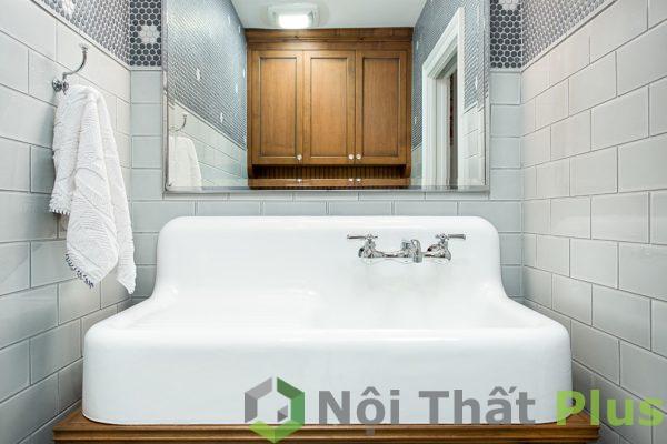mẫu bồn rửa mặt cho phòng tắm nhỏ