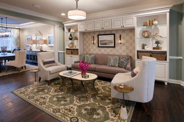 gia thiết kế mẫu phòng khách cho nhà phố