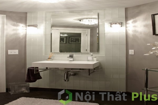 bố trí ánh sáng cho phòng tắm